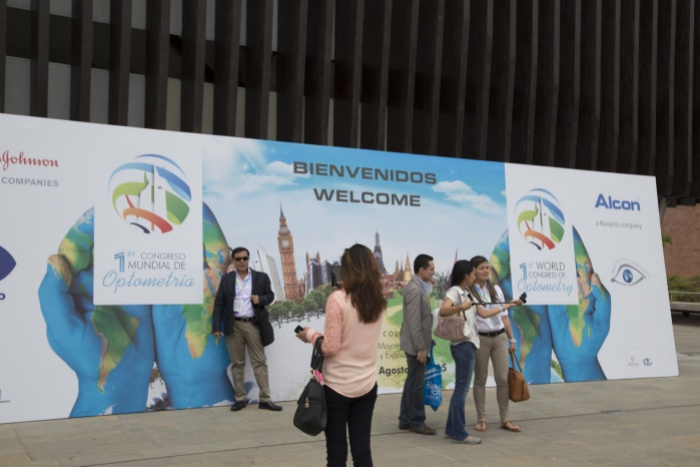 The beautiful city of Medellín played host to the 1st World Congress of Optometry